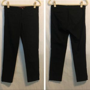 LIKE NEW Anthro Cartonnier Black Cropped Pants